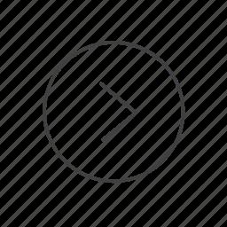 arrow, arrows, ios, line, mobile, right, web icon