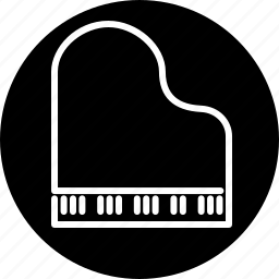 grand piano, instrument, keyboard, music, musical, piano icon
