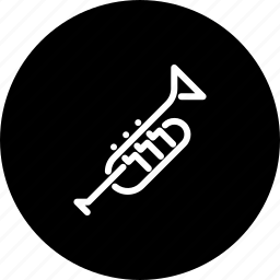 brass, instrument, jazz, music, musical, trumpet, wind icon