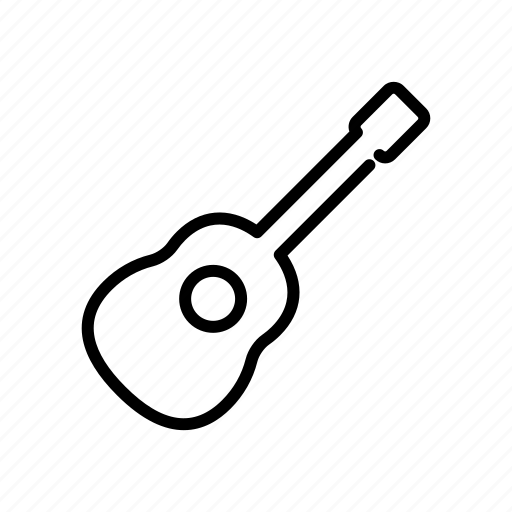acoustic, guitar, instrument, music, string icon