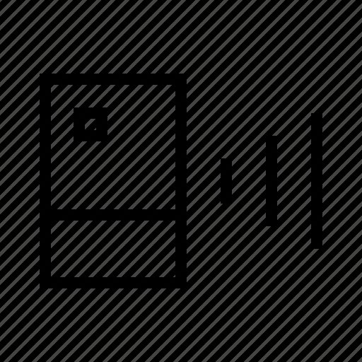 computer, speaker icon