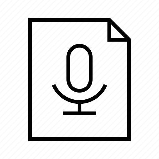 file, mp3, record, sound, wav, wave icon