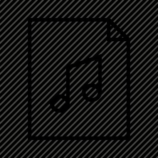 file, midi, mp3, music, sound, wav icon