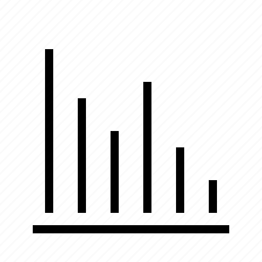 bar, graph, line icon