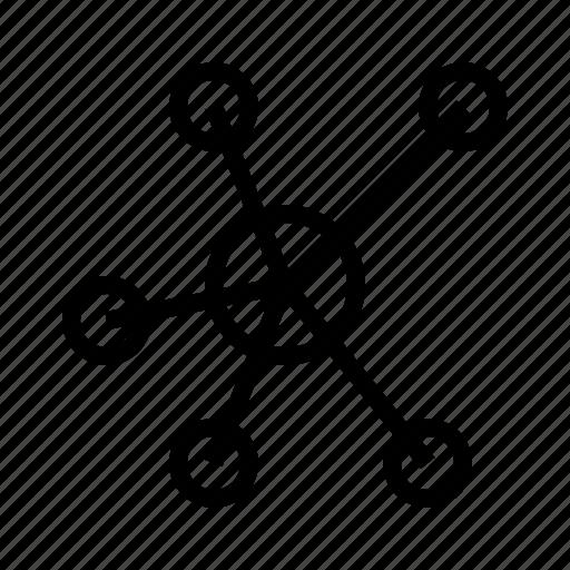 graph, social icon