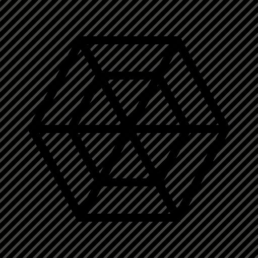 chart, spider, web icon