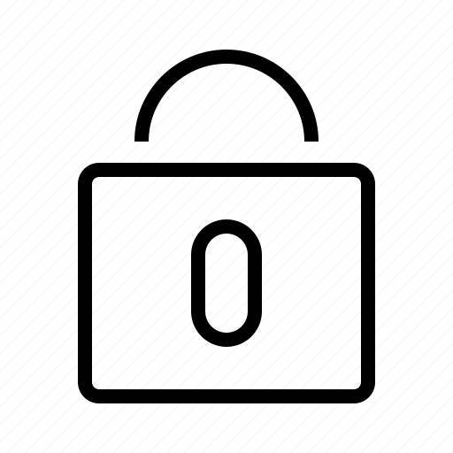 locked, padlock icon