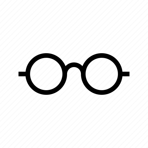 find, glasses, look, see icon