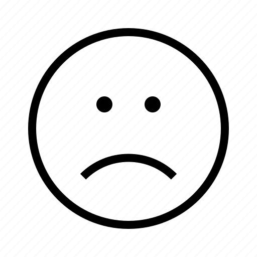Face, sad icon - Download on Iconfinder