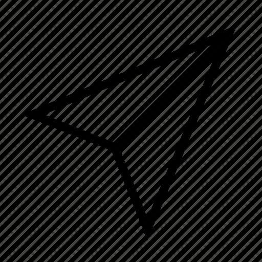 paper, plane, send icon