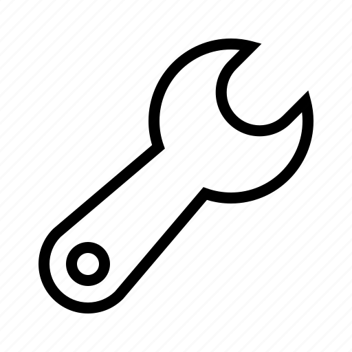 setting, wrench icon