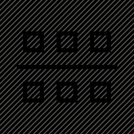 align, distribute icon