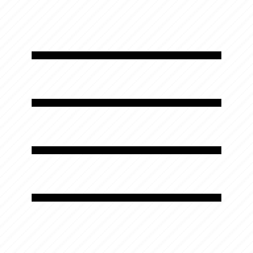 align, justify icon