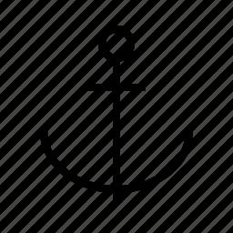 anchor, link icon