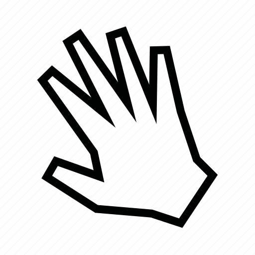 hand, move, touch icon