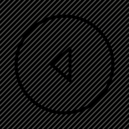 backward, m icon