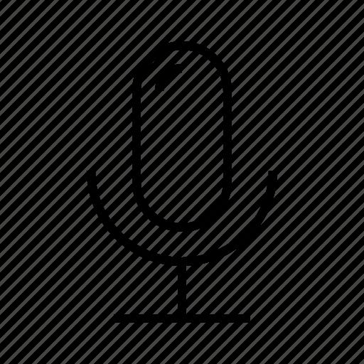 m, micro, microphone icon