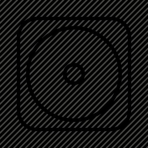 m, speaker icon