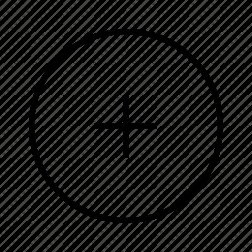 add, m icon