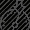 arrow, car, control, cruise, dashboard, limiter, speed icon