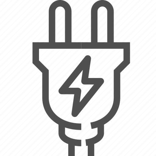 charger, electric, electricity, energy, lightning, plug, power icon