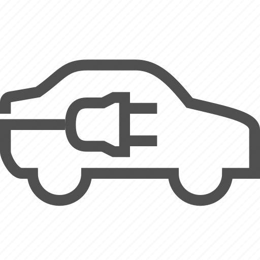auto, car, charger, electric, electricity, energy, plug icon