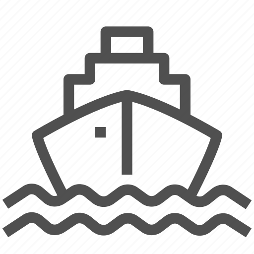 boat, navigation, sea, ship, transport, transportation, voyage icon