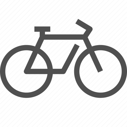 bicycle, bike, cycle, ride, transport, velocipede, wheel icon