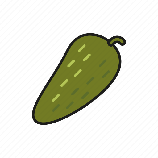 cucumber, food, gherkin, pickled, vegetables icon