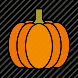 food, gourd, pumpkin, vegetables icon