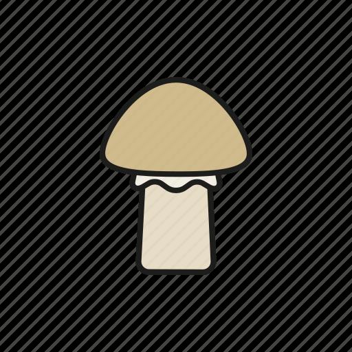 food, mushroom, vegetables icon
