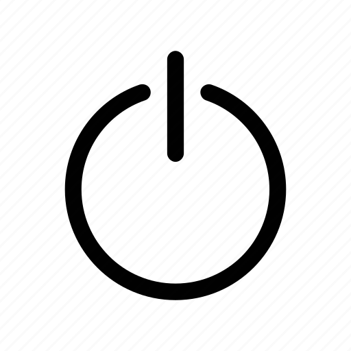 device, electric, off, on, power icon