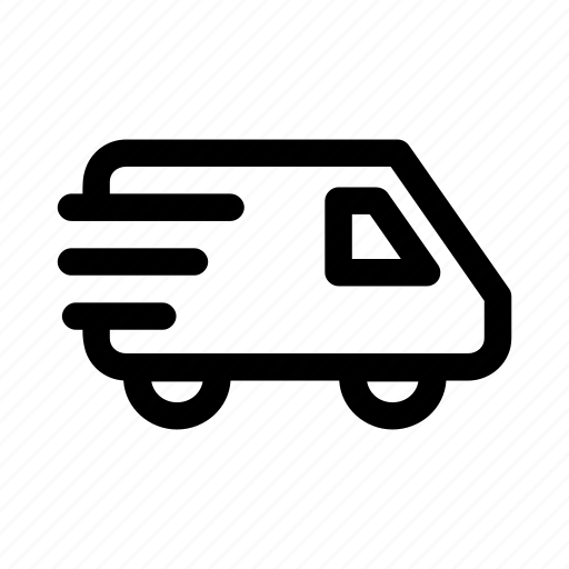 car, delivery, package, send, transportation icon