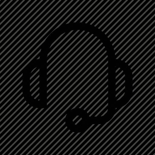 chat, earphone, earpiece, headphone, headset icon