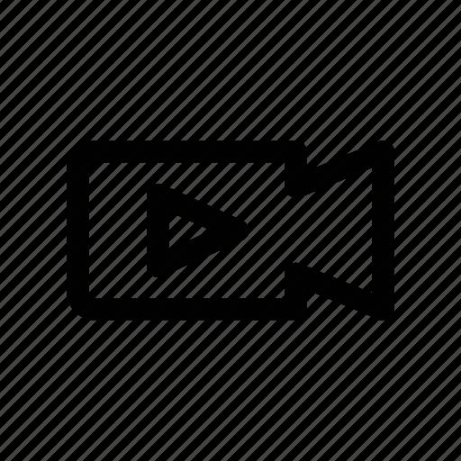 capture, clip, movie, recording, video icon