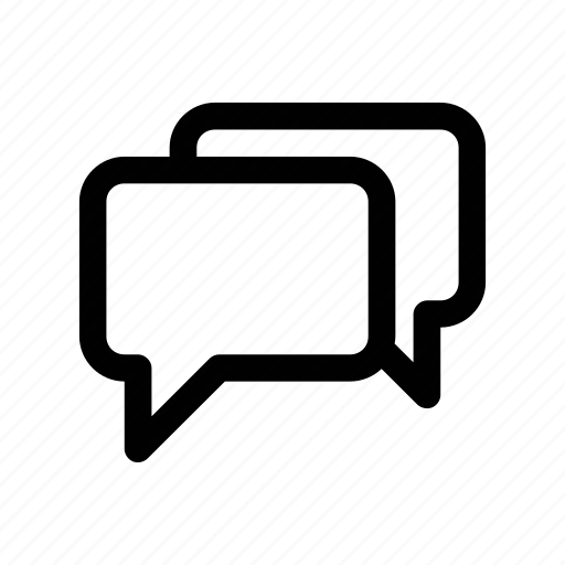 chat, conversation, dialogue, form, message icon