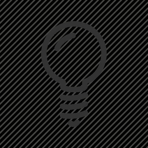 electricity, idea, lamp, light, lightning icon