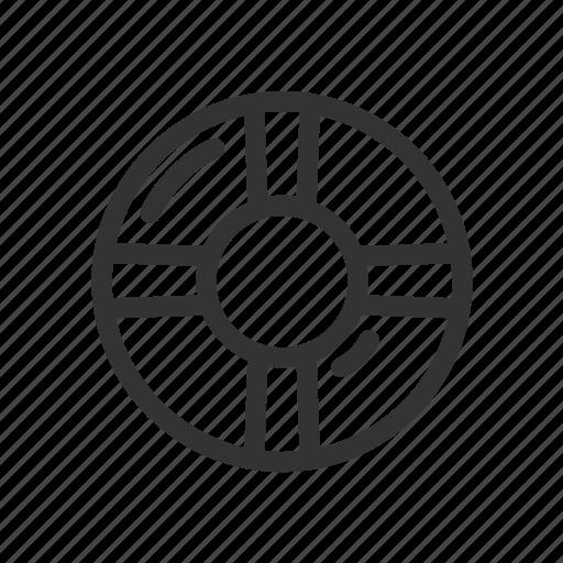 help, lifeline, sea, service, support icon