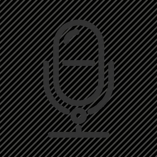 audio, karaoke, mic, microphone, record, voice icon