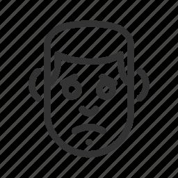 avatar, face, feeling, sad icon