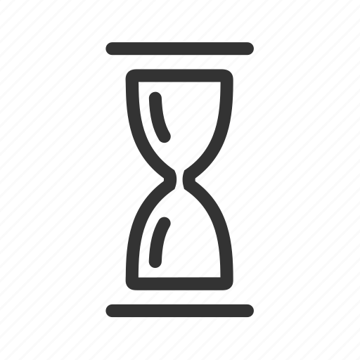 clock, hourglass, sandglass, time, timer, wait icon