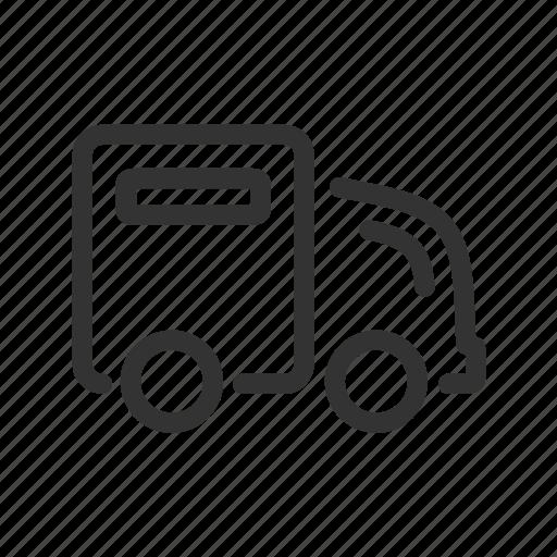 car, shipping, transport, transportation, travel, truck icon