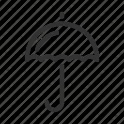 cloud, dry, protect, rain, umbrella, weather icon