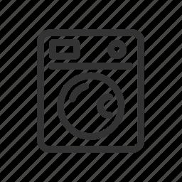 appliances, home, kitchen, washing, washing machine icon