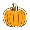 food, pumpkin, squash, vegetable icon