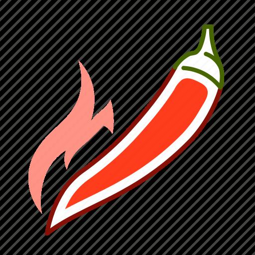 chili, chili pepper, food, hot pepper, pepper, vegetable icon