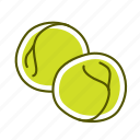 food, pea, vegetable icon