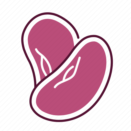 bean, food, red bean, vegetable icon