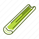 celery, food, vegetable icon