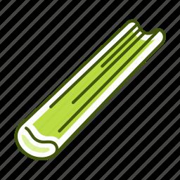 celery, food, vegetable icon